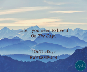 "ON THE EDGE: Today Is ""Opening Day"""